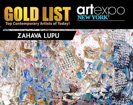 Zahava Lupu in the media and famous art magazine
